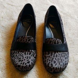 Dansko Cheetah Clogs